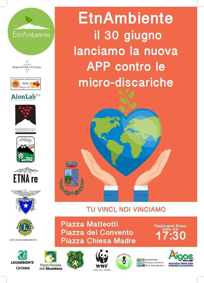 30.06.2018: EtnAmbiente a Piedimonte Etneo