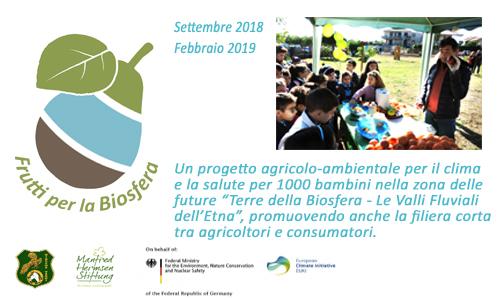 """News sul progetto """"Frutti per la Biosfera"""""""