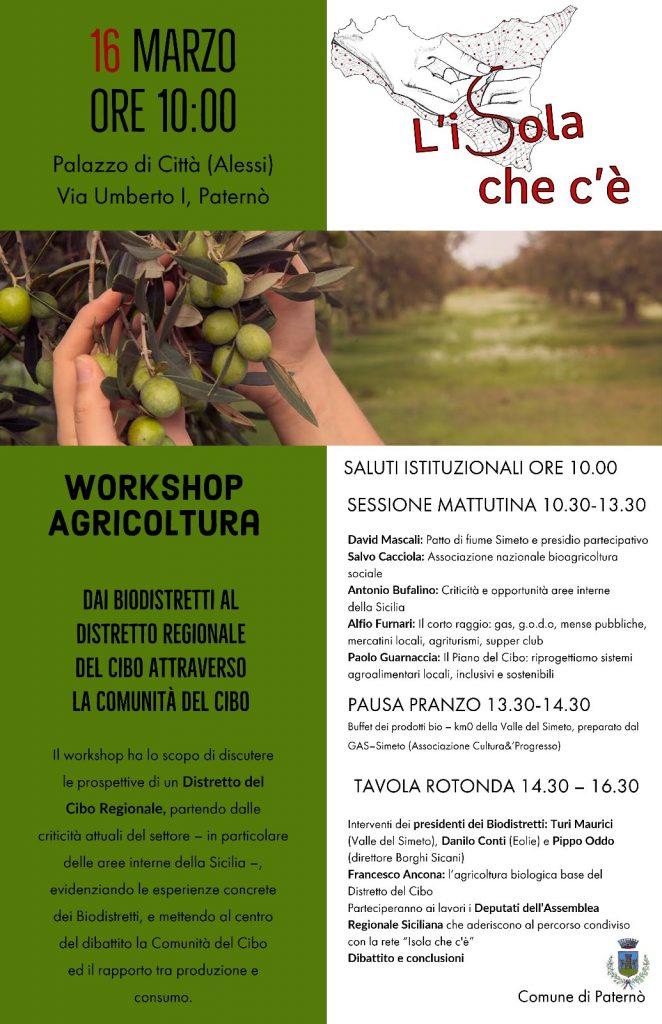 16.03.19: Workshop Agricoltura a Paternò